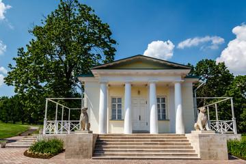 White Pavilion with Pillars in Kolomenskoye, Moscow, Russia