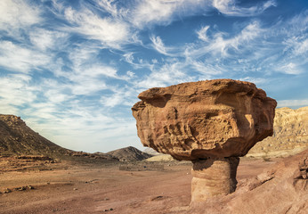 Stones of Timna park, 25 km north of Eilat, Israel