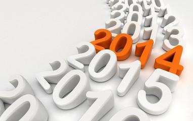 2014 - Rappresentazione anni che passano