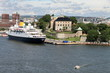 The Town Hall and harbour, Oslo. Norway, Scandinavia, Europe