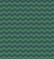 Seamless knit pattern imitation