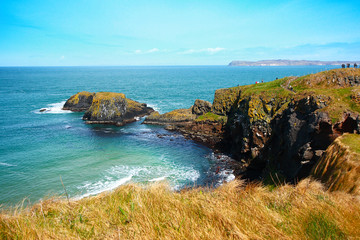 Irish coastline in Springtime