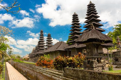 Foto op Plexiglas Indonesië Detail of Pura Taman Ayun temple, Bali