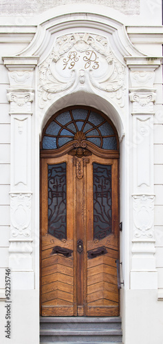 Old Wooden Door.