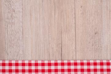 Karo in rot weiss als Hintergrund