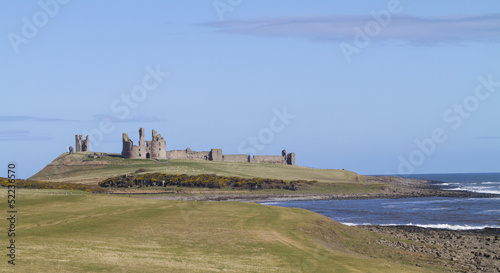 Dunstanburgh Castle, Northumbria, UK