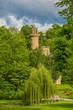 Trauerweide vor Märchenschloss - Schlossgarten Ludwigsburg