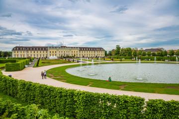 Residenzschloss Ludwigsburg mit Brunnen