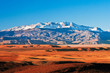 canvas print picture - Mountain landscape in the north of Africa, Morocco