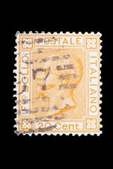 francobollo del Regno d'Italia del 1877