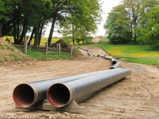 Gasleitungsmontage