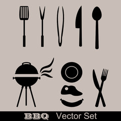 Barbecue Vector Set