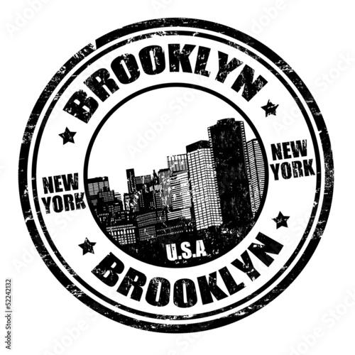 Fototapeten,neu,york,bronzo,stamp
