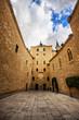 Courtyard in the Alcazar of Segovia, Castilla y Leon, Spain