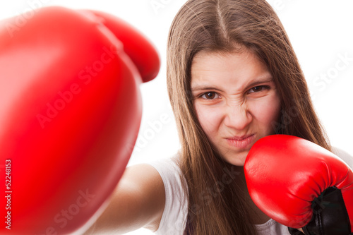 Punch, Boxing - Women