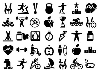 big sport icons