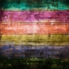fondo legno vintage arcobaleno