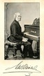 Portrait of german pianist and composer Reinecke