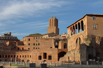 The Imperial Fora in Rome