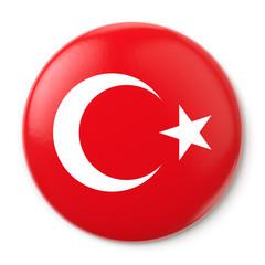 Turkey Pin-back