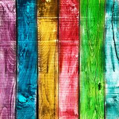 legno vintage colorato