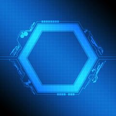 polygon frame modern design