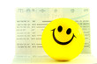 Smile ball on account passbook