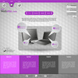website template for business presentation