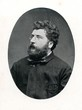 Portrait of french composer Georges Bizet