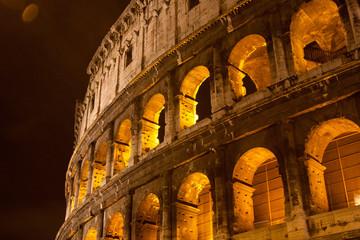 Coliseum Amphitheater, Rome, Italy