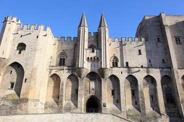 Popes' Palace of Avignon, unesco world heritage, France