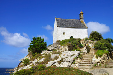 Chapelle Sainte Barbe. Roscoff, France