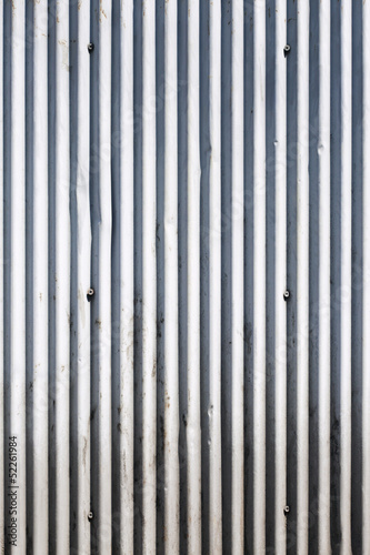 corrugated iron panels
