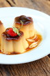 Caramel custard - pudding