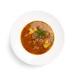 Russian national soup (borscht)