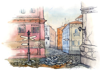 old sity street