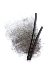 Charcoal sticks for drawing