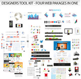 XL collection of web graphics- web templates, icons & graphics