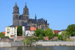 canvas print picture - Magdeburg