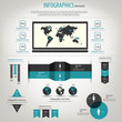 Retro Infographics Set. World ...