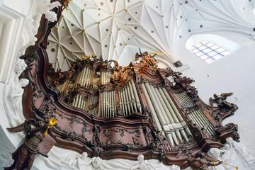 Great organ of Oliwa Archcathedral in Poland