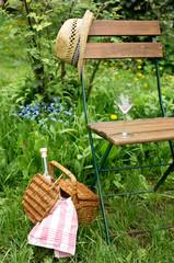 Ruhepause im Garten