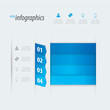 Four options infographics vector. Place your own text.