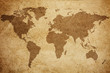 Quadro World map texture background