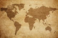 Fond de carte mondiale de la texture