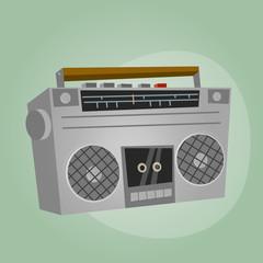 radio alt kassettenrekorder