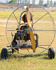 Motor de parapente