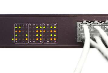 Ethernet cable and network switch