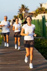 modern family jogging