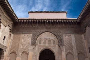 Morocco Marrakesh Ali Ben Youssef Medersa Islamic